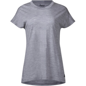 Bergans Oslo Wool Shortsleeve Shirt Women grey